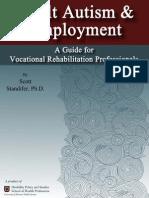 Adult Autism & Employment