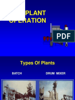 HMA plant operation Power Point