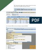 Demo Scenario on Adobe Interactive Forms Using ABAP WebDynpro - Part2