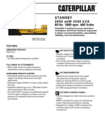 Caterpillar 3516C Genset Specification Sheets