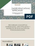 Necesidades Educativas Especiales 2013
