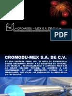 Carta de Presentacion Cromodumex