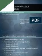 La Interculturalidad en Los Negocios Internacionales