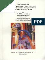Antología de La Poesía Cósmica de Matanzas, Cuba- Raúl T. Lopez e Iván S Merlín