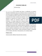 Articulo - Violencia Familiar (Internado II)
