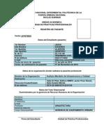 Registro de Pasantia