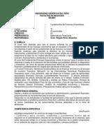 Silabo de Fundamantos de Finanzas Corporativas Ucp