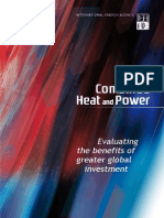 Combined Heat and Power Evaluating the Benefits of Greater Global Investment