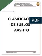 CLASIFICACIÓN ASSHTO