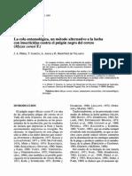 Control Biologico Pulgon Negro Cerezo