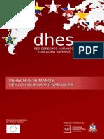 DDHH Grupos Vulnerables. Manual