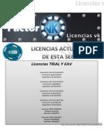 Licencias Actualizadas Full (Factorvk)