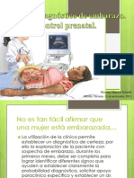Diagnóstico de embarazo, control prenatal..pptx