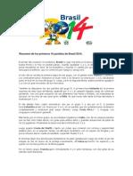 Brasil 2014 Resum