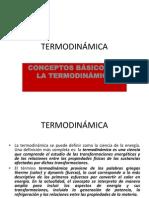 TERMODINÁMICA, conceptos básicos