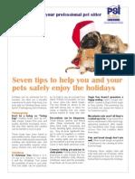7 holiday tips