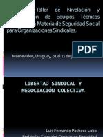 3- Libertad Sindical y Negociacion Honduras