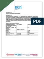 Ficha T+®cnica Cinta Blanca 955-20 Protecci+¦n Mec+ínica