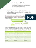 Manual PETE en Linea 2013