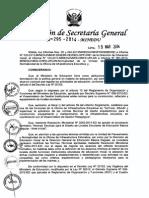 Norma Tecnica Para El Diseño de Locales Escolares de Educacion Basica Inicial 2014 - Arq. José Luis Lacho
