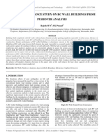 Seismic Performance Study on Rc Wall Buildings From Pushover Analysis