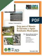 Guìa Para El Manejo de Excretas y Aguas Residuaes Municipales
