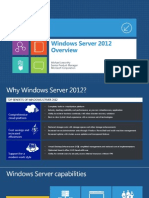 WS2012 Overview