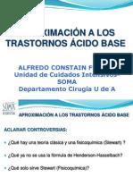 Aproximacion a Los Trastornos Acido Base