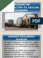 Proceso de Elaboracion de Azucar Guabira