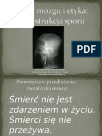 Marek Wichrowski - Śmierć mózgu i etyka