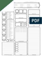 D&D Adventurer's League TOD Character Sheet