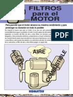 Material Filtros Motor Maquinaria Pesada Komatsu