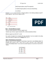 FP Tree Example