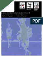 Curso Monitor Tecnica y Tactica-nivel 2