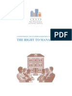 THE RIGHT TO MANAGE