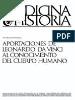 Felipe Bastos Mora - Aportaciones Da Vinci Conocimiento Cuerpo Humano