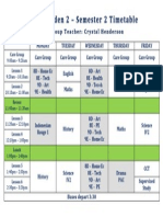 89c timetable