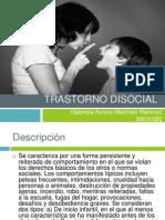 Trastorno Disocial Pp