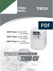 CV7300 Instruction Manual 11-05