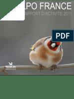 LPO - Rapport d'activité 2011
