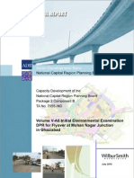 Environment Report of Flyover