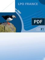 LPO - Rapport d'activité 2007