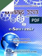 Milaap 2013 E-Souvenir