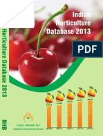 Indian Horticulture Database 2013