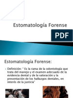 Estomatología Forense