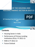 State of the Housing Sector by Shri Lalit Kumar, NHB
