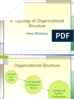 A Typology of Organizational Structure[1]
