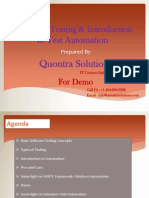 AutomationTesting on Selenium by Quontra Solutions