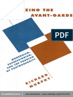 1228669 Literature Culture Theory Richard Murphy Theorizing the Avant Garde Modernism Expressionism and the Problem of Postmodernity Cambridge Univers