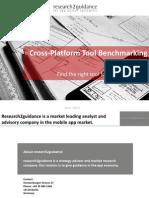 r2g Cross Platform Tool Benchmarking 2014 - Other Platforms Than Slideshare